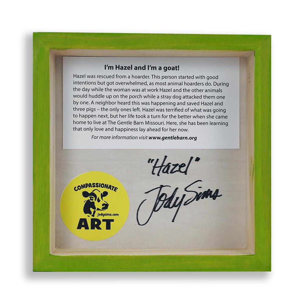 Jody Sims Compassionate Art Prints - Hazel - GB-JSMO-HAZ