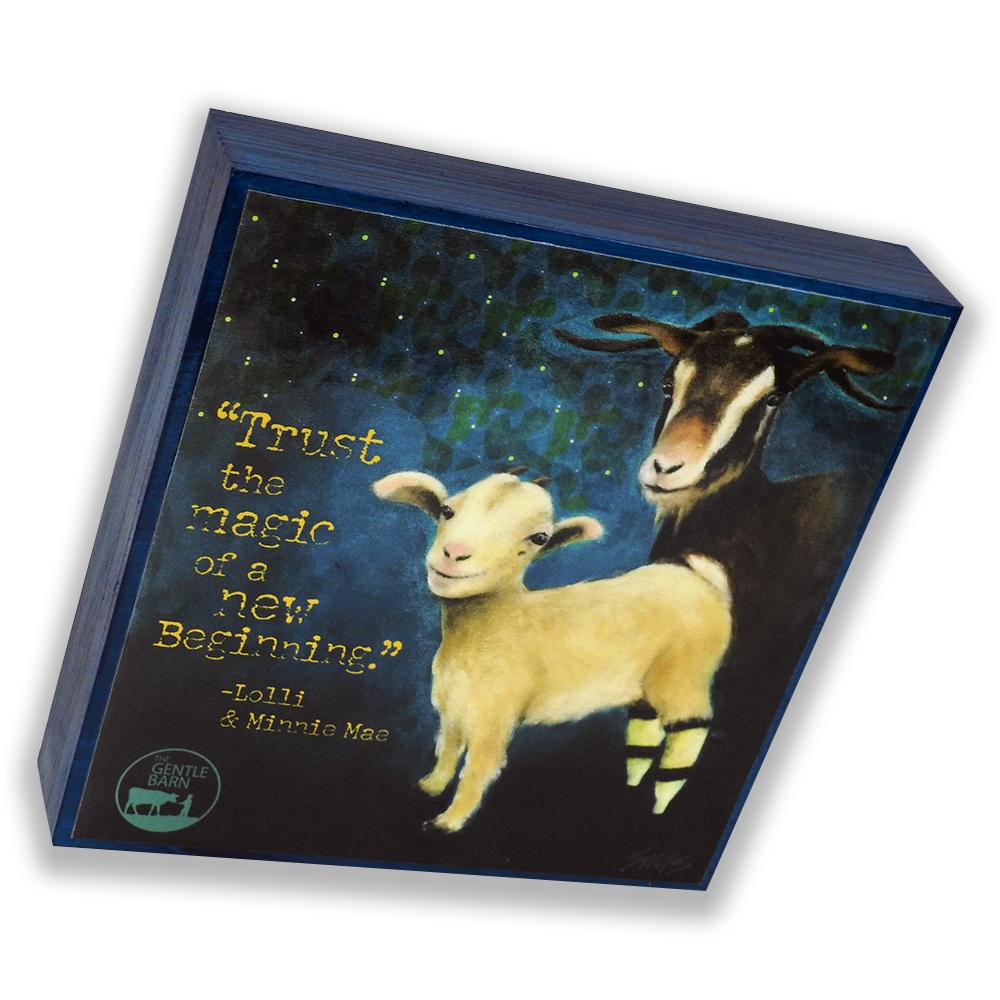 Jody Sims Compassionate Art Prints - Lolli & Minnie - GB-JSTN-LOL