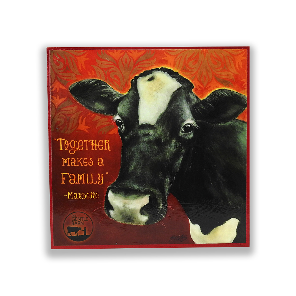 The Gentle Barn Art featuring Maybelle Cow by Jody Sims Compassionate Art Prints - Tennessee