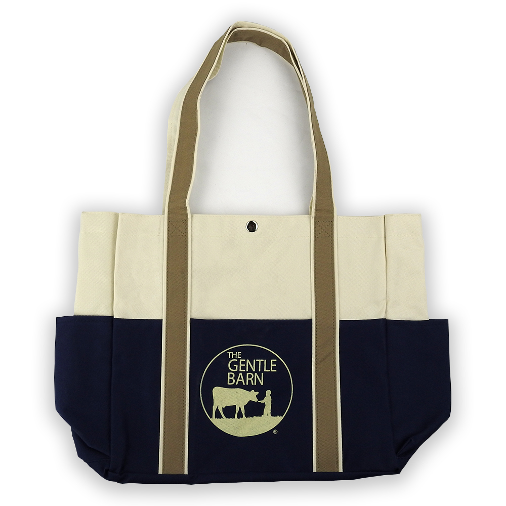 Gentle Barn Canvas Tote Bag