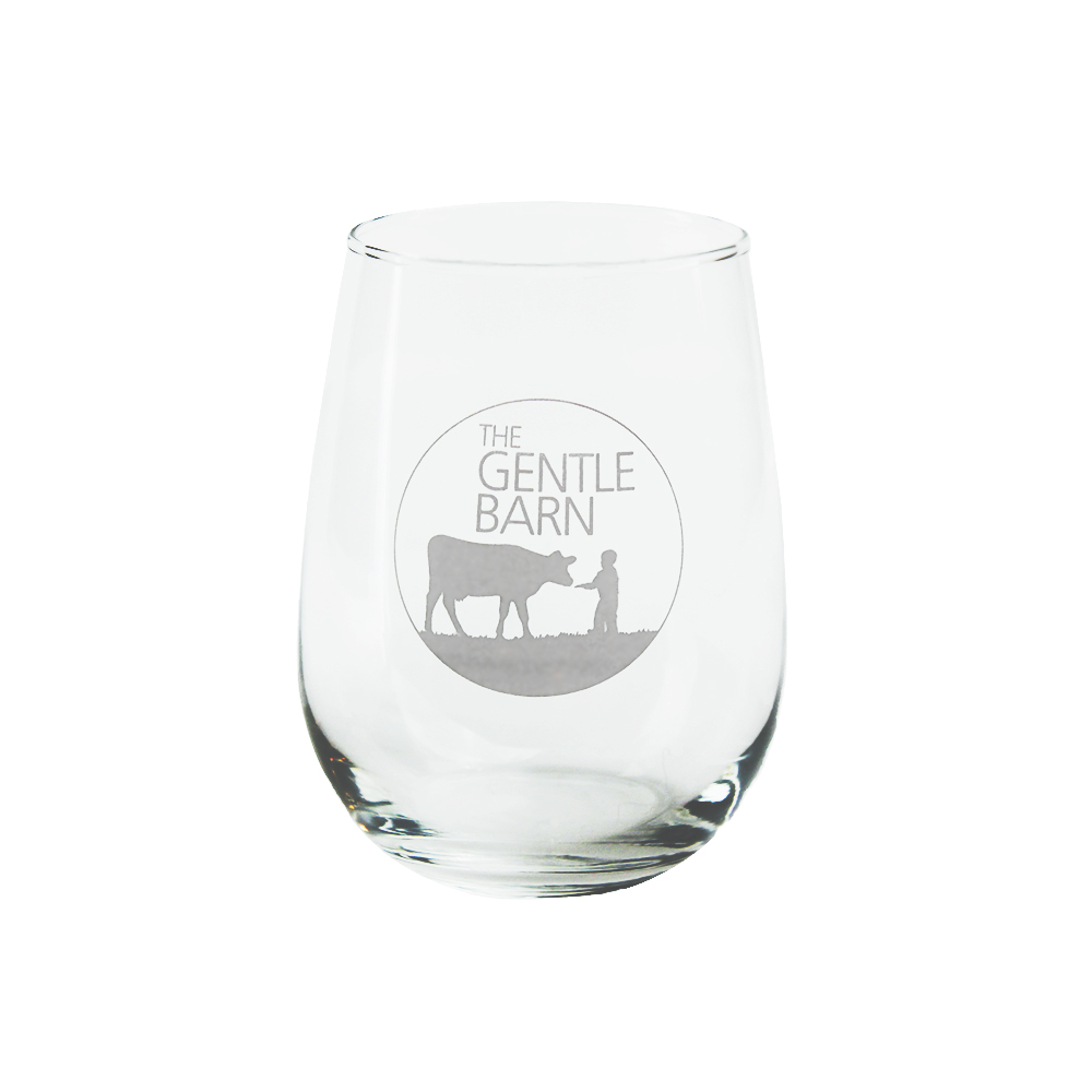 Gentle Barn Stemless Wine Glass - 17 ounce
