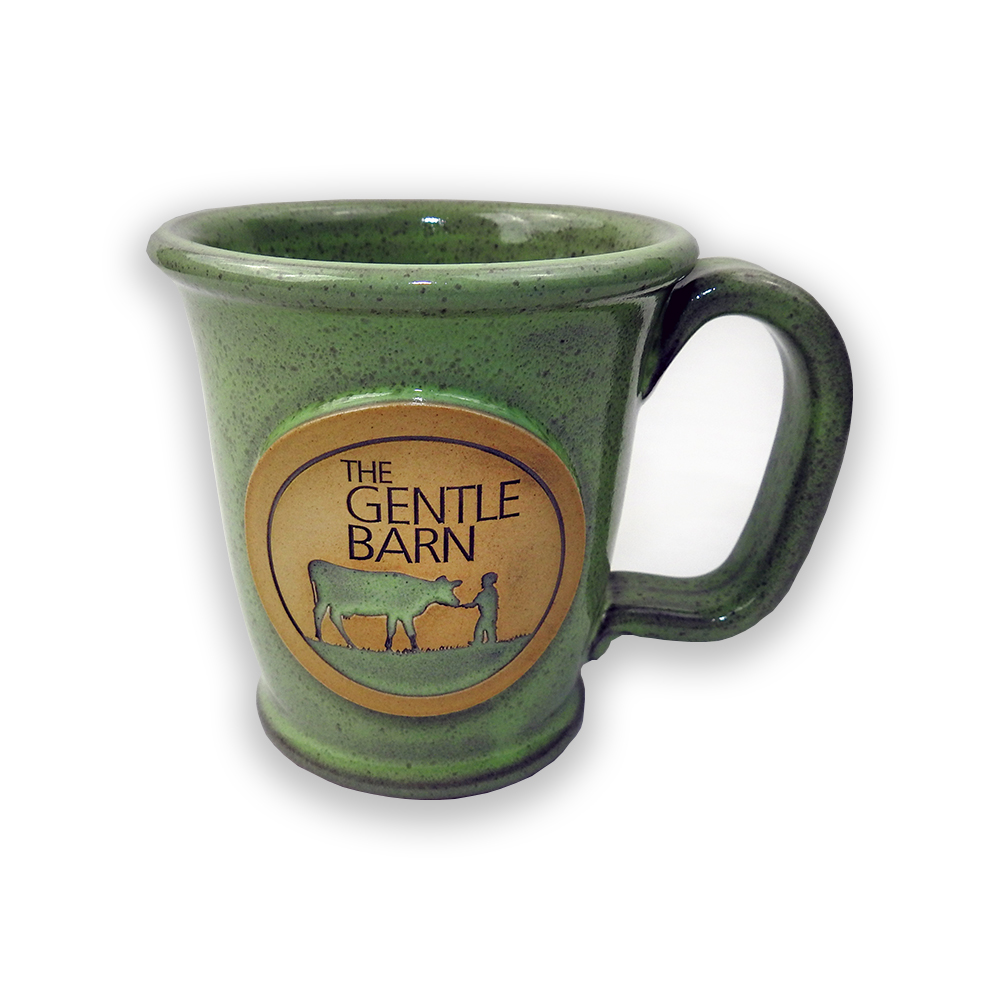 The Gentle Barn Stoneware Mug Pistachio Green