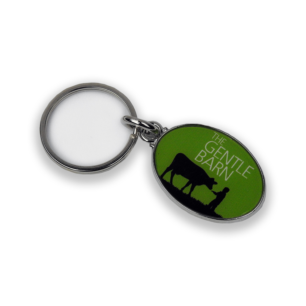 The Gentle Barn Logo Keychain