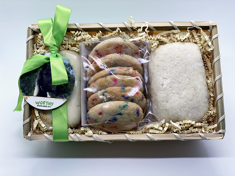 Vegan Cake and Cookie Basket - GB172
