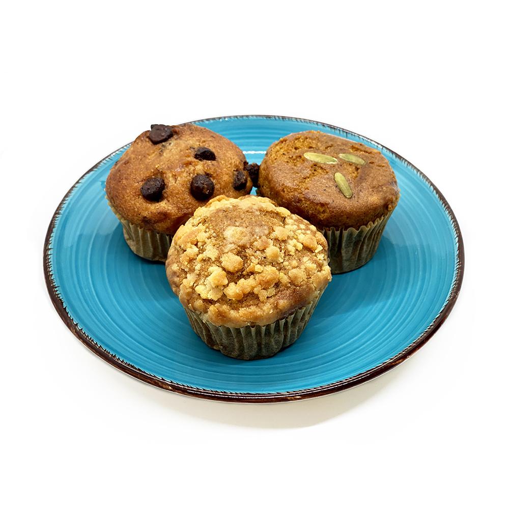 Vegan Muffins - Box of 6 vegan baked goods, cruelty free baked goods, vegan muffins, cruelty free muffins