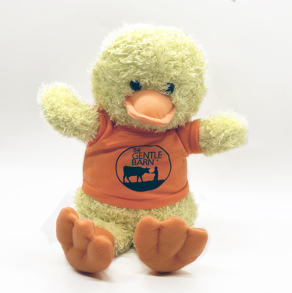 Gentle Barn Plush Duck