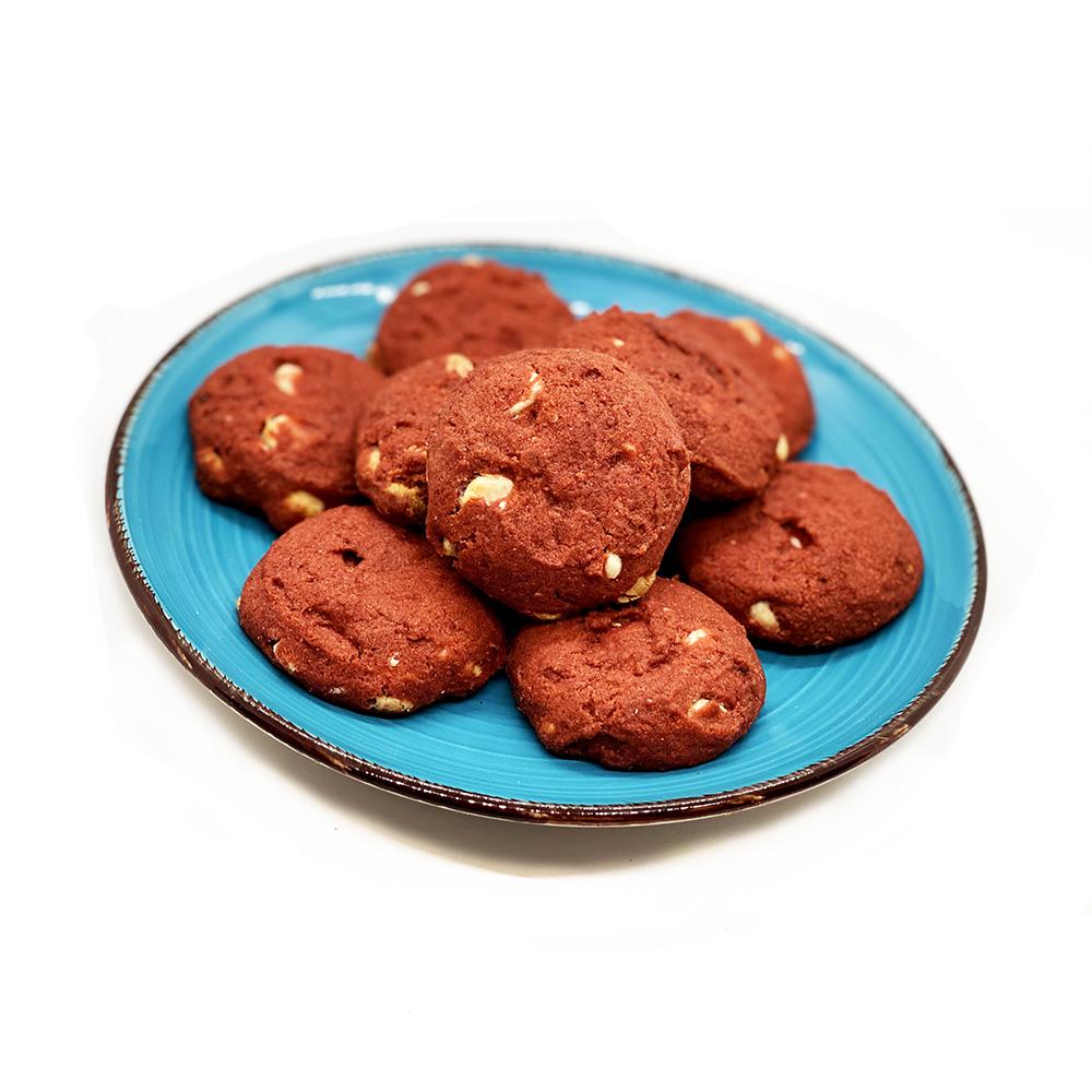 Vegan Red Velvet Cookies vegan dessert, cruelty free dessert, vegan red velvet, vegan cookies, vegan snacks