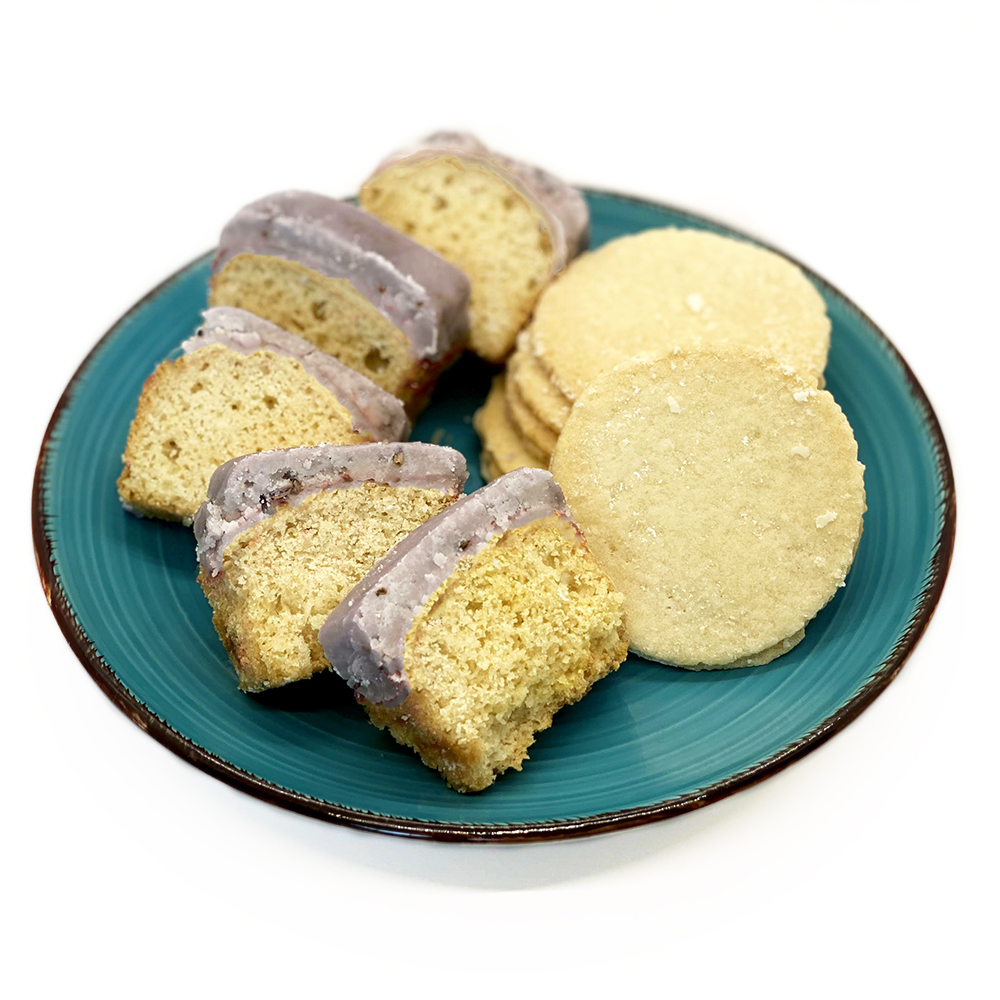 Vegan Lavender Cake and Lemon Cookies vegan baked goods, cruelty free baked goods, vegan cake, vegan cookies