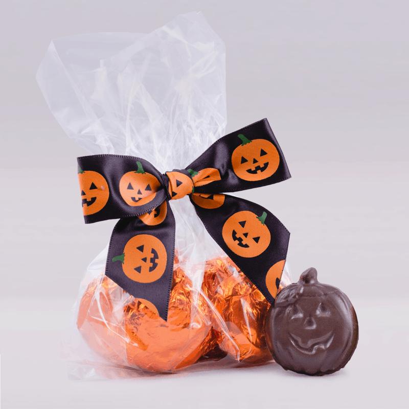 Halloween Vegan Chocolate Pumpkin Bag