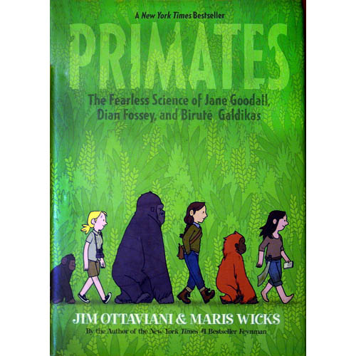 Primates: The Fearless Science of Jane Goodall, Dian Fossey, and Birute Galdikas - JGI113