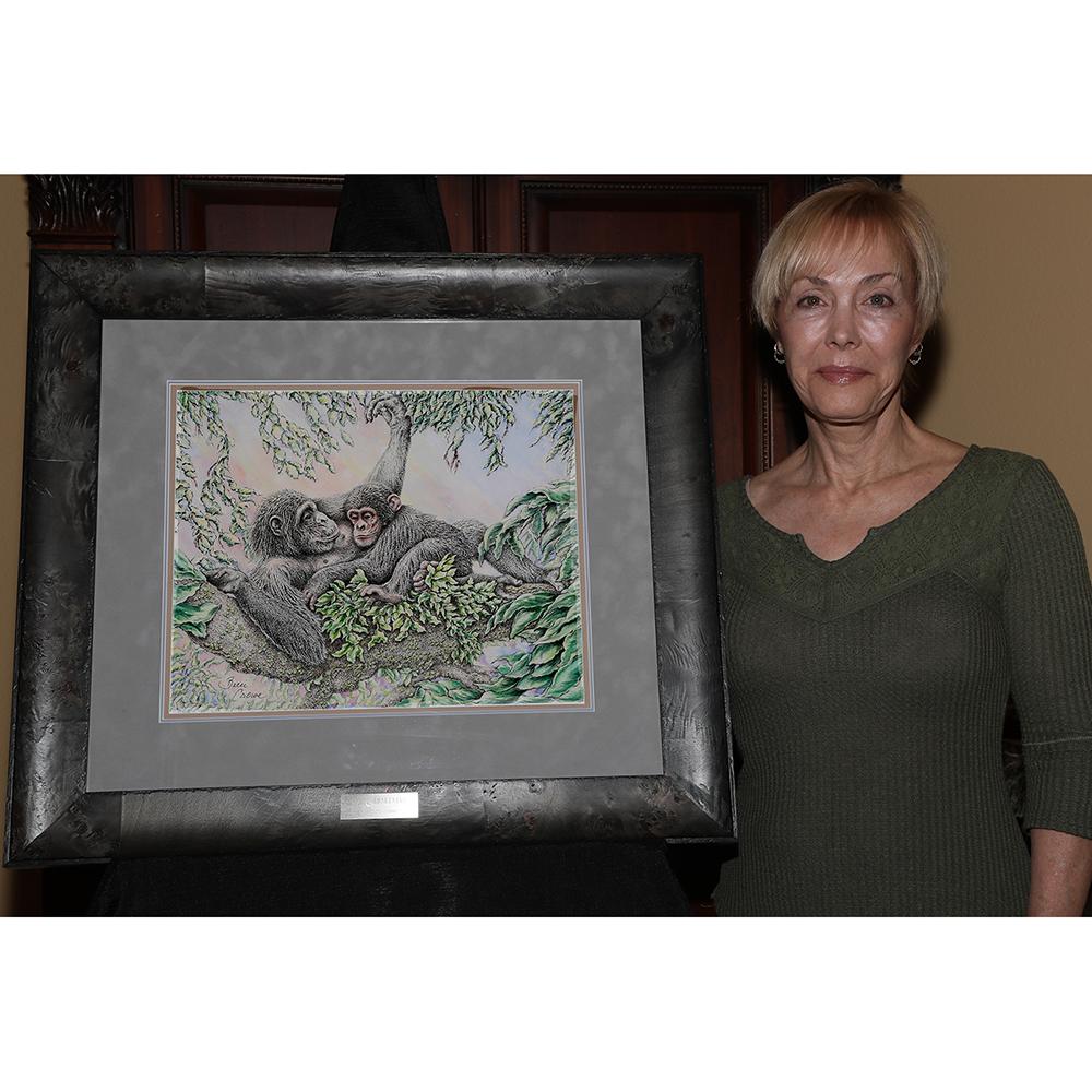 Gombe Awakening Art Print by Becci Crowe - JGI179