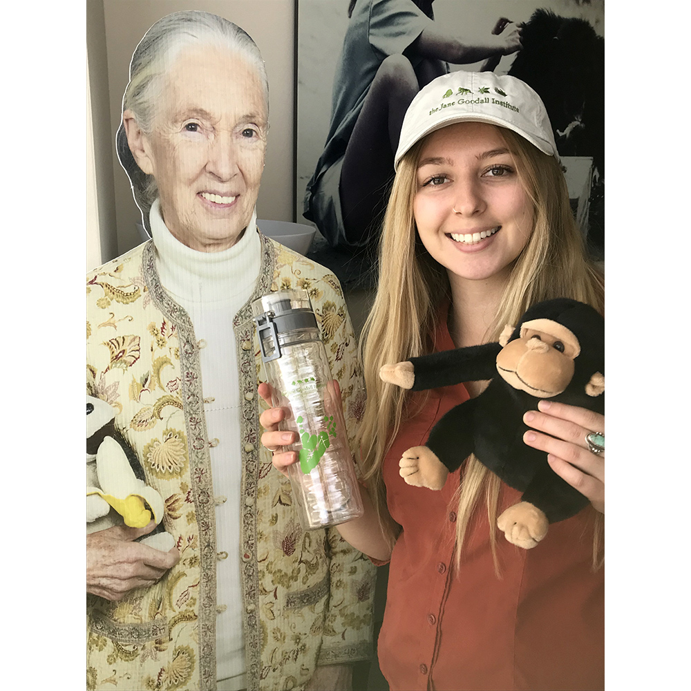 Jane Goodall Institute Water Bottle - JGI187