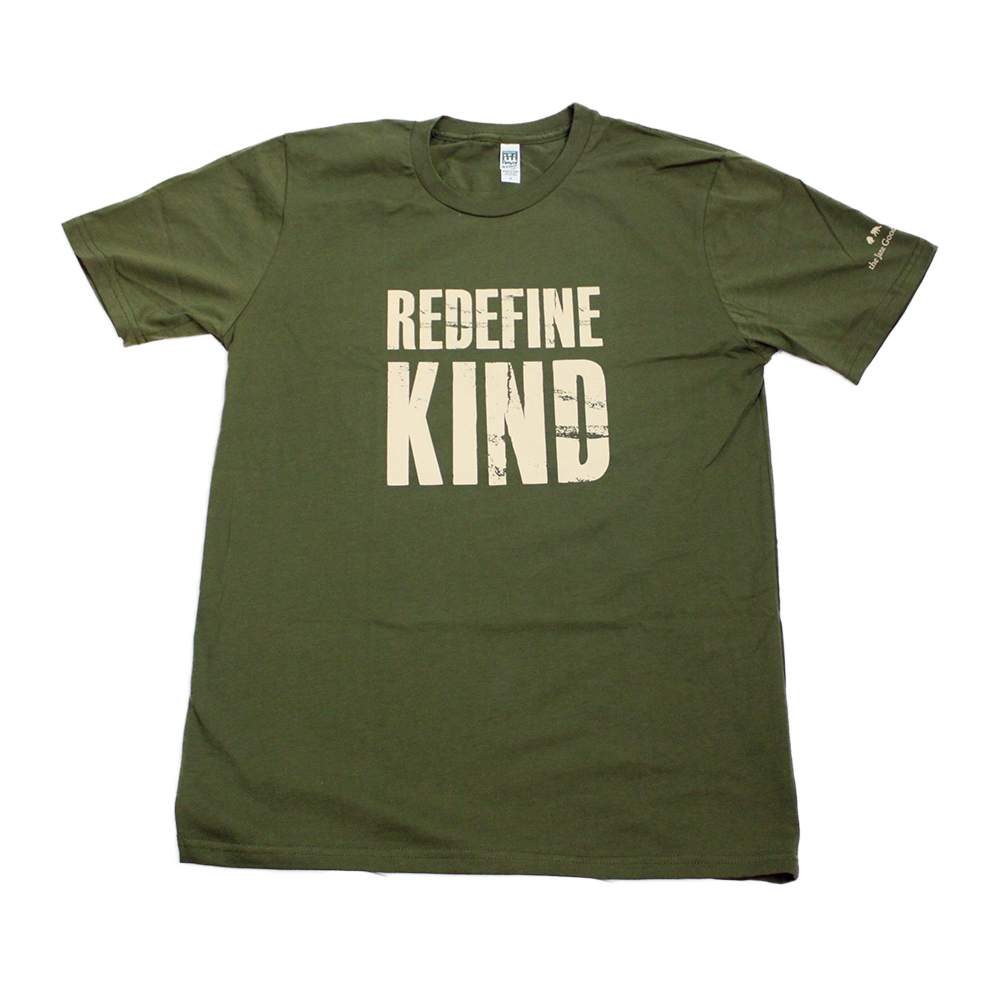 Jane Goodall Institute Unisex Redefine Kind T-Shirts