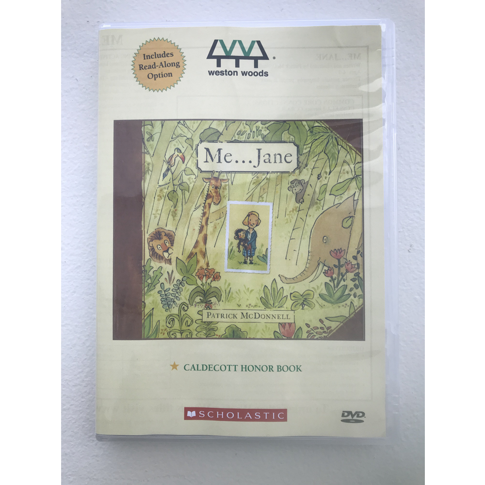 Me... Jane Read-Along DVD