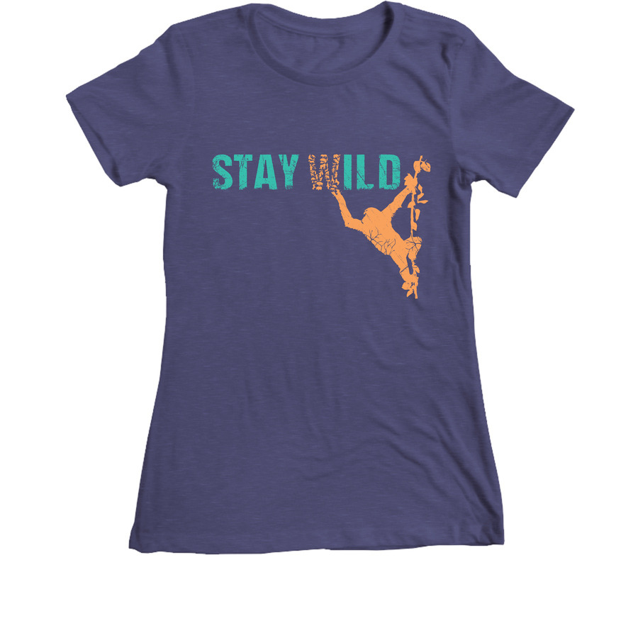 JGI Women's Stay Wild T-Shirt