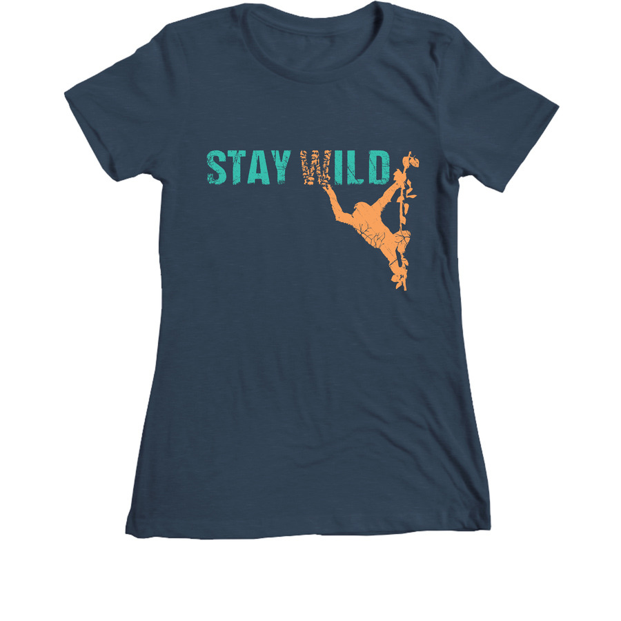 JGI Womens Stay Wild T-Shirt