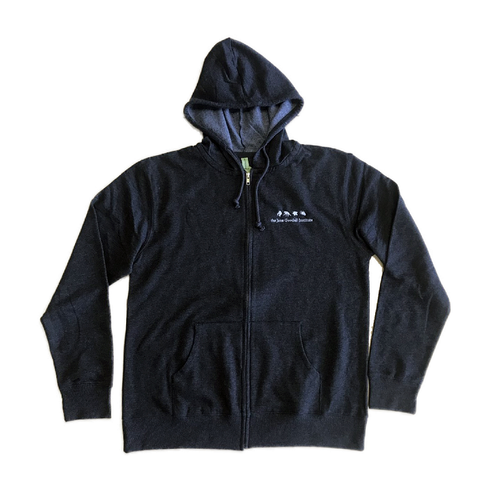 Jane Goodall Institute Zip Hoodies - JGI207