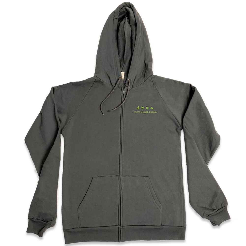 Jane Goodall Institute Zip Hoodies