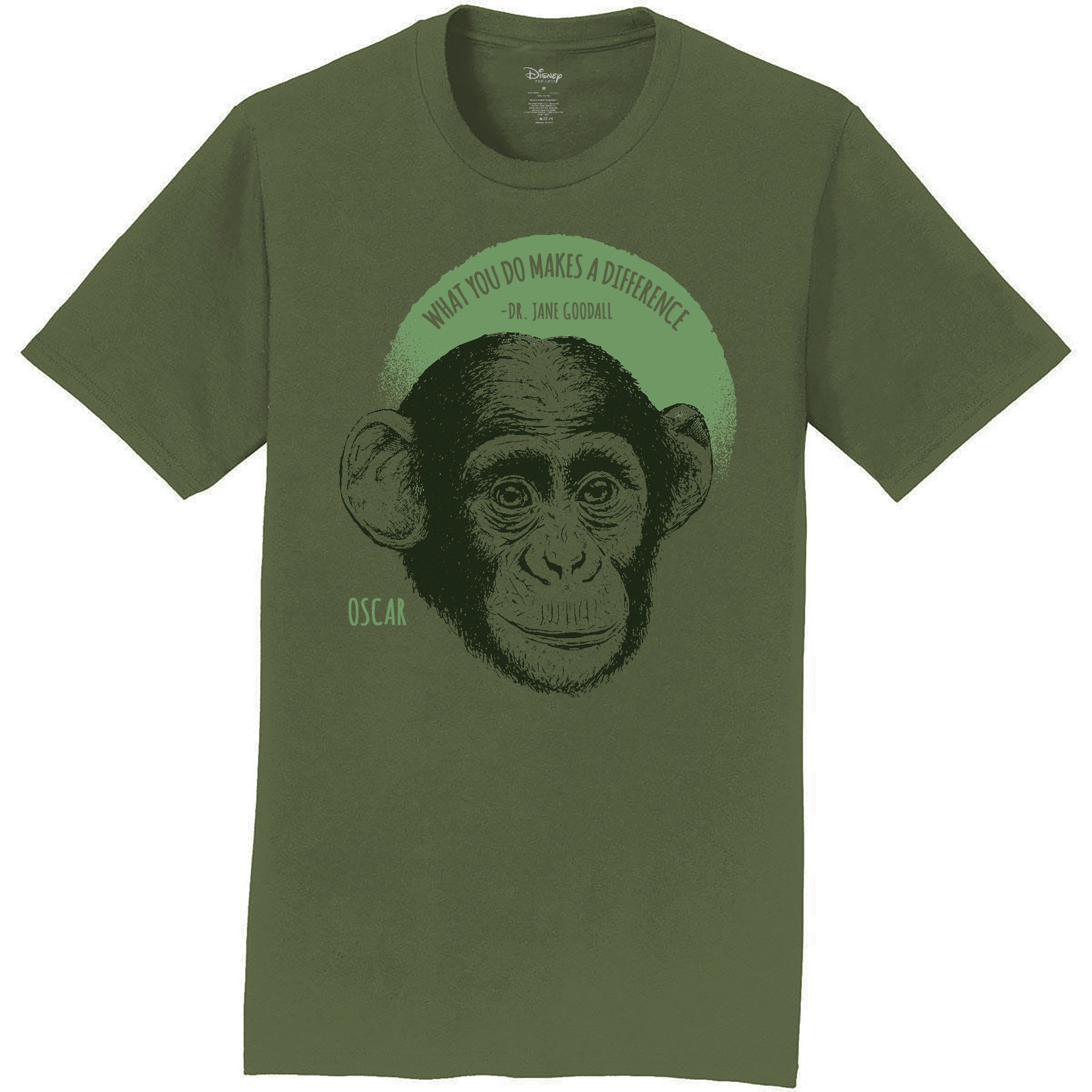 Disneynature + JGI Oscar Quote T-Shirt