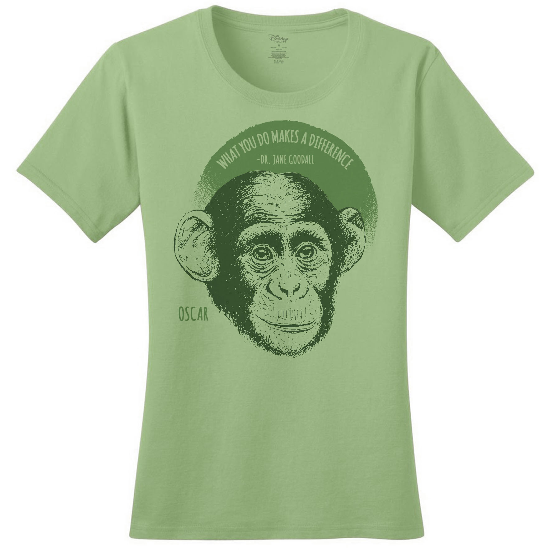 Disneynature + JGI Oscar Quote Women's T-Shirt