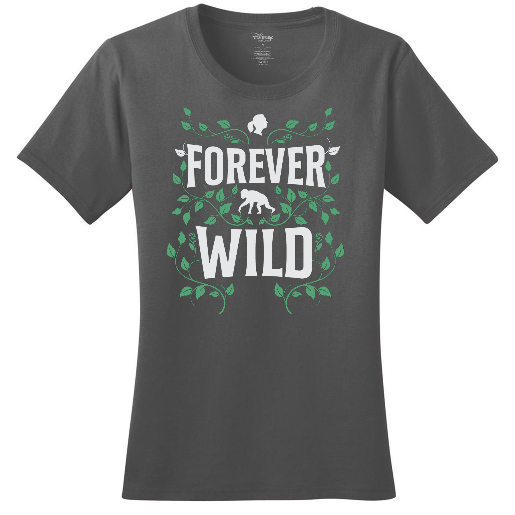 Disneynature + JGI Forever Wild Fitted T-Shirt