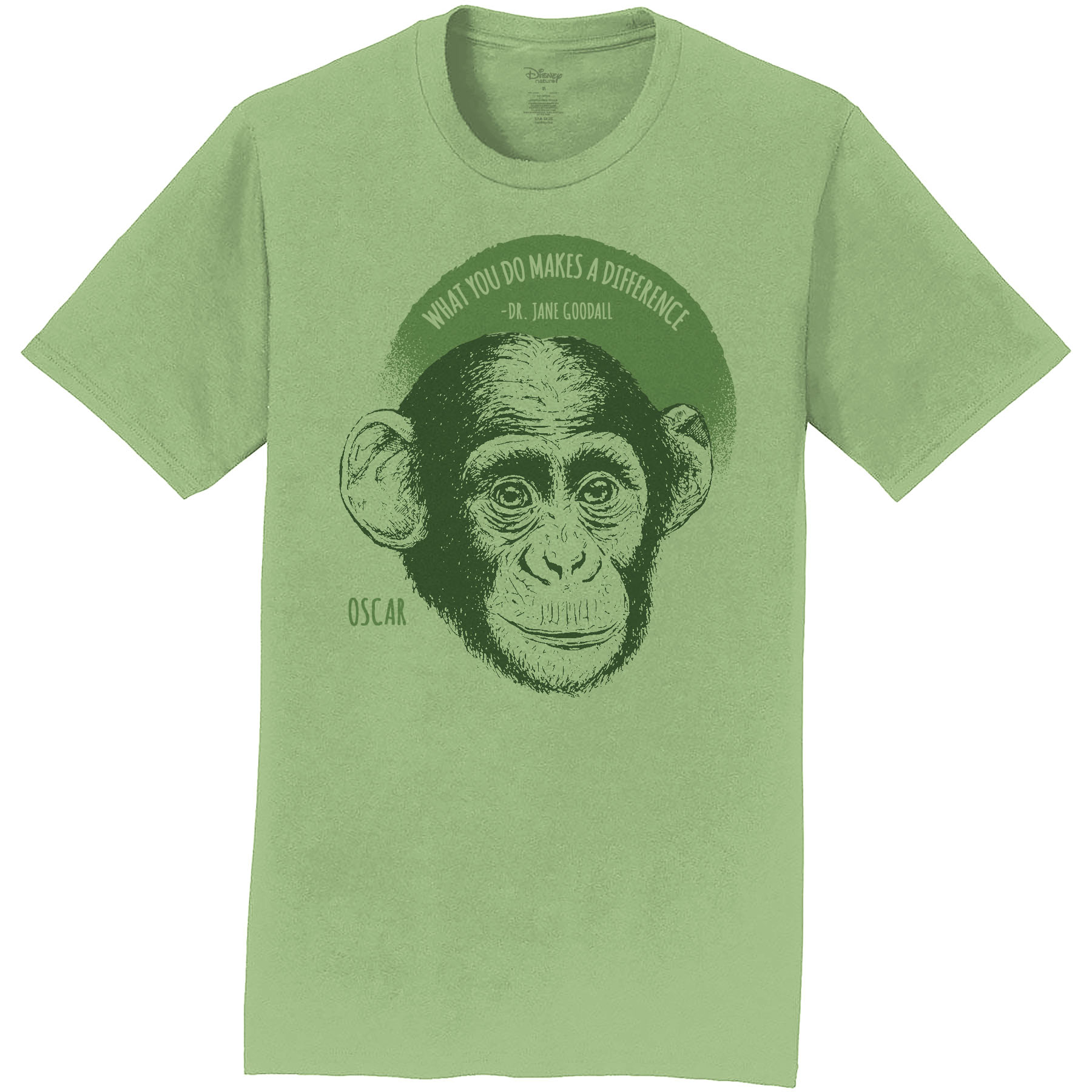 Disneynature + JGI  Oscar & Jane Goodall Quote Youth T-Shirt