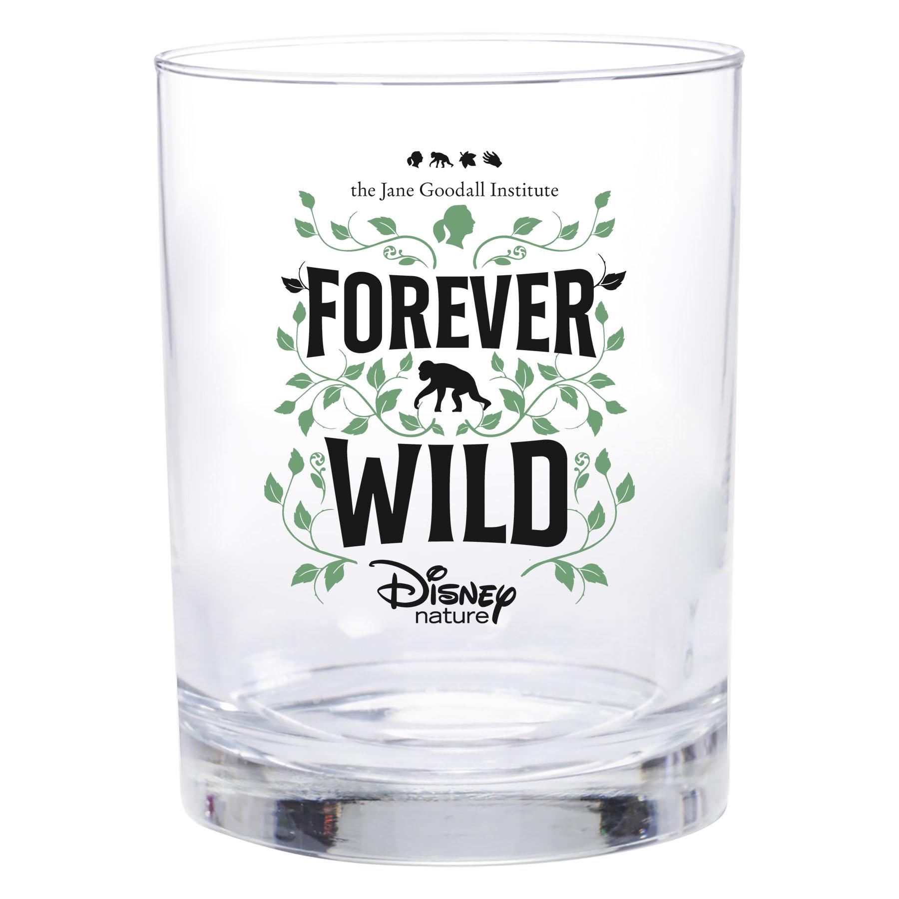 Disneynature + JGI Forever Wild - 13.5 oz Rocks Glass