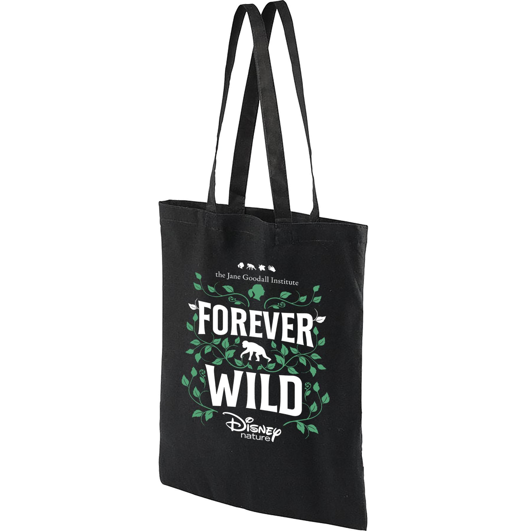 Disneynature + JGI Forever Wild - Black Tote