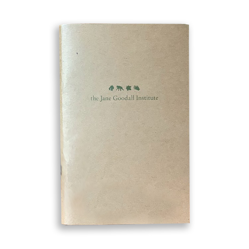 Jane Goodall Paperback Journal