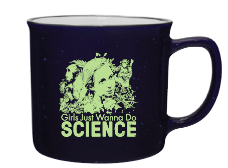 Girls Just Wanna Do Science Mug