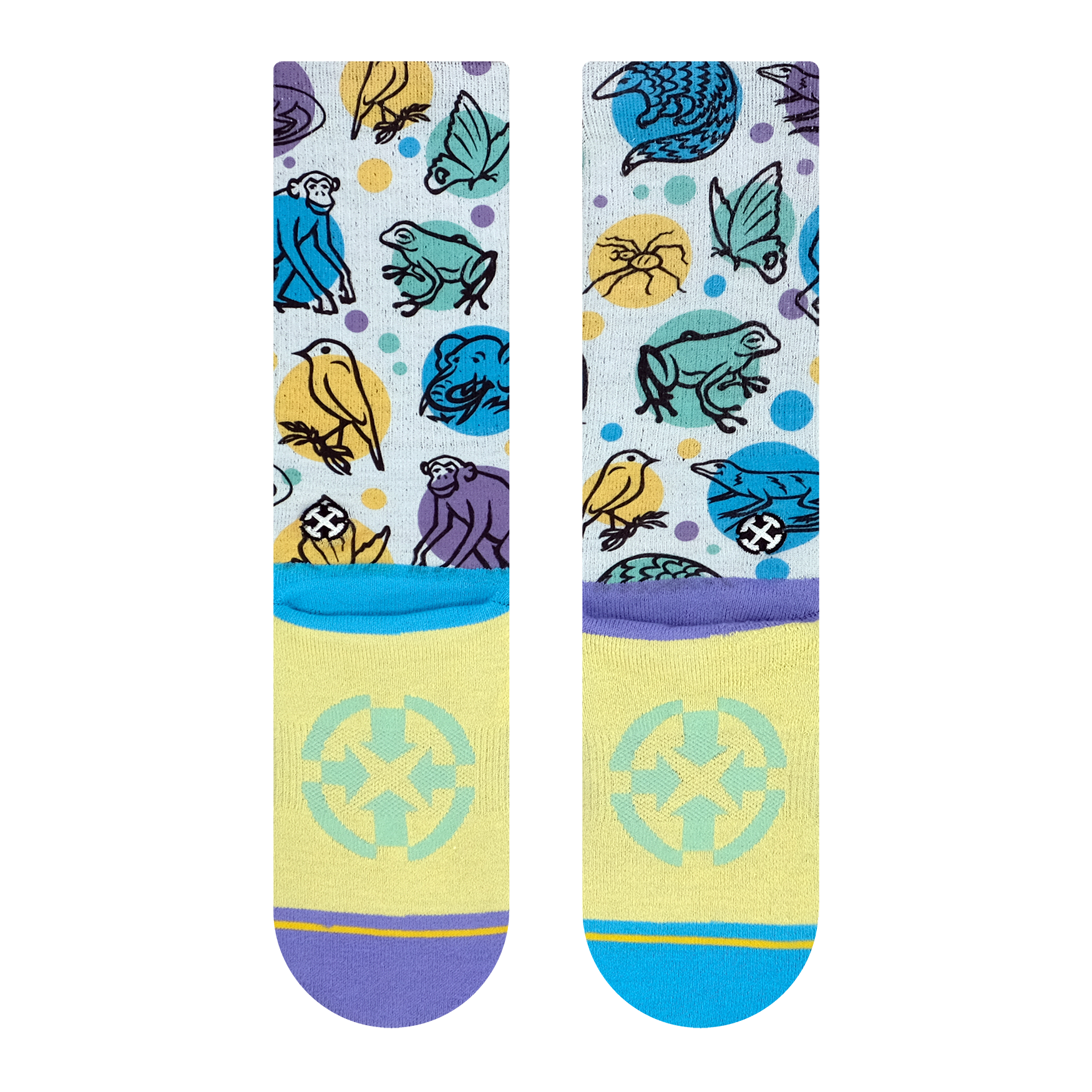 Endangered Species Socks with the Jane Goodall Institute - JGI273