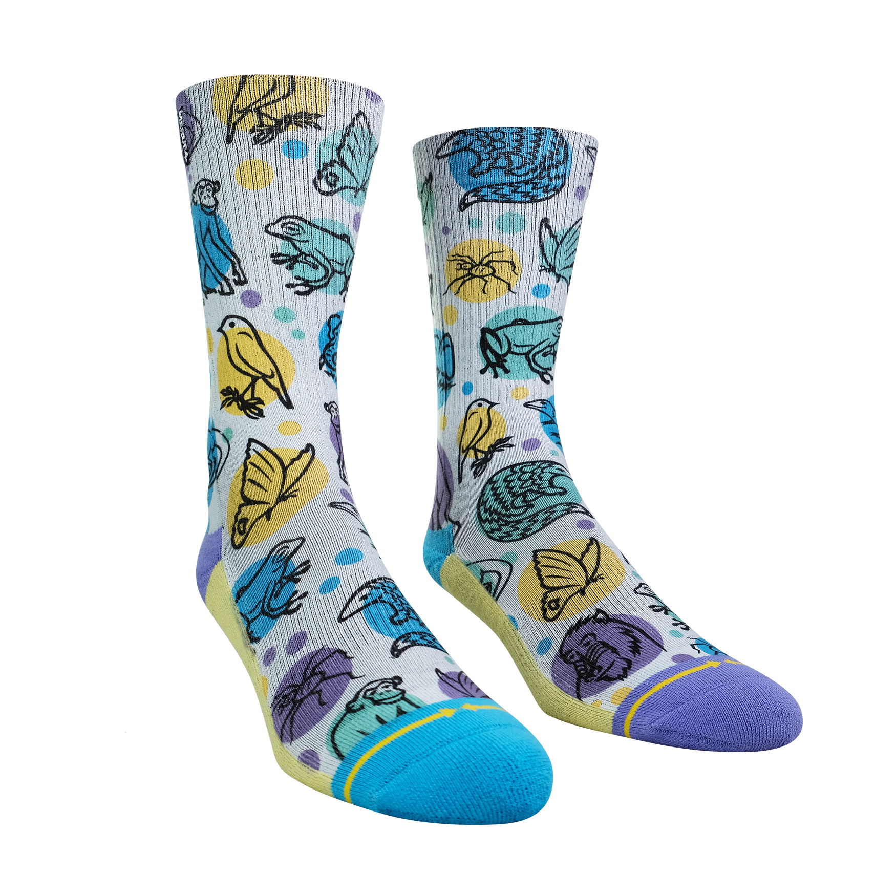 Endangered Species Socks with the Jane Goodall Institute