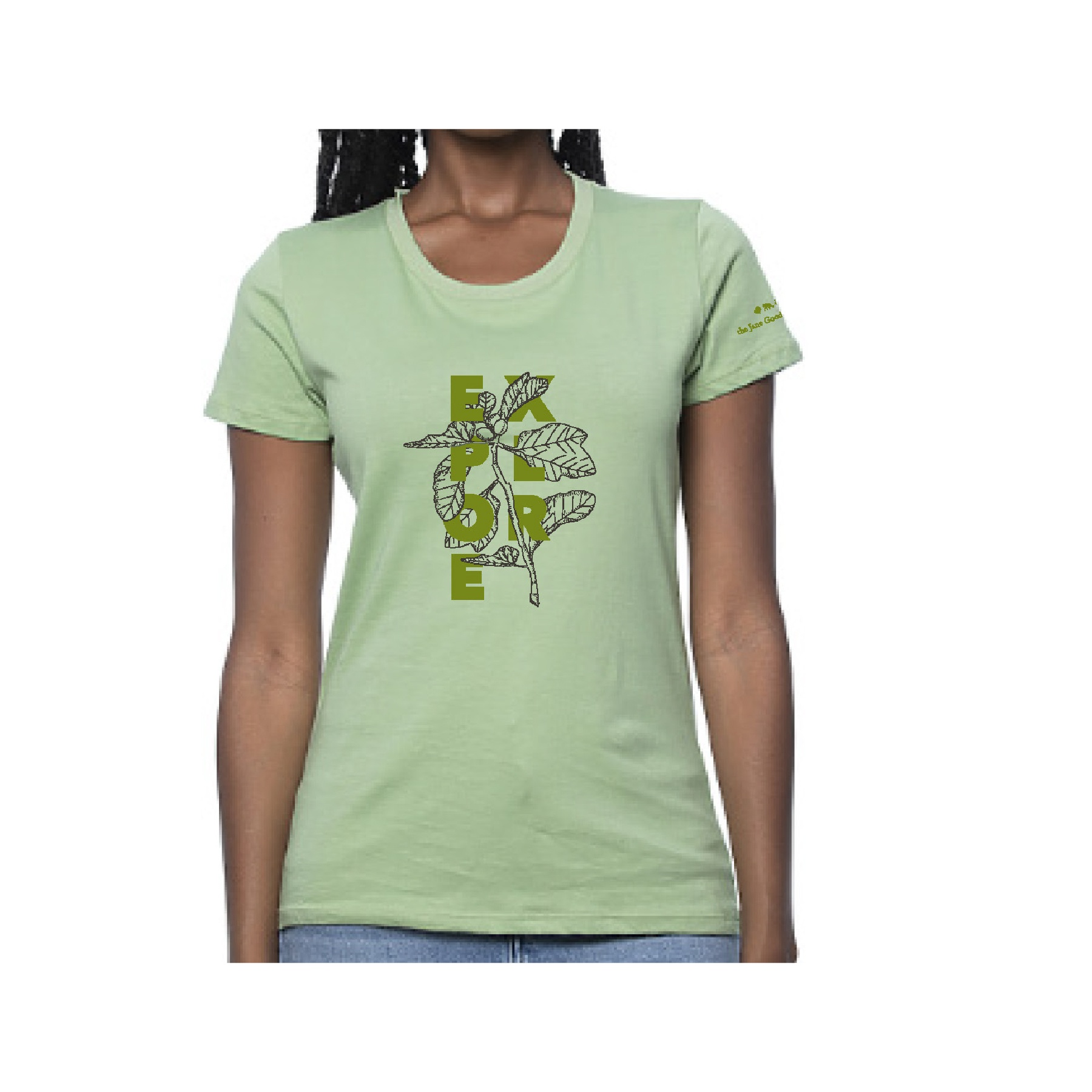 Explore Gombe Botanical Womens T-shirt