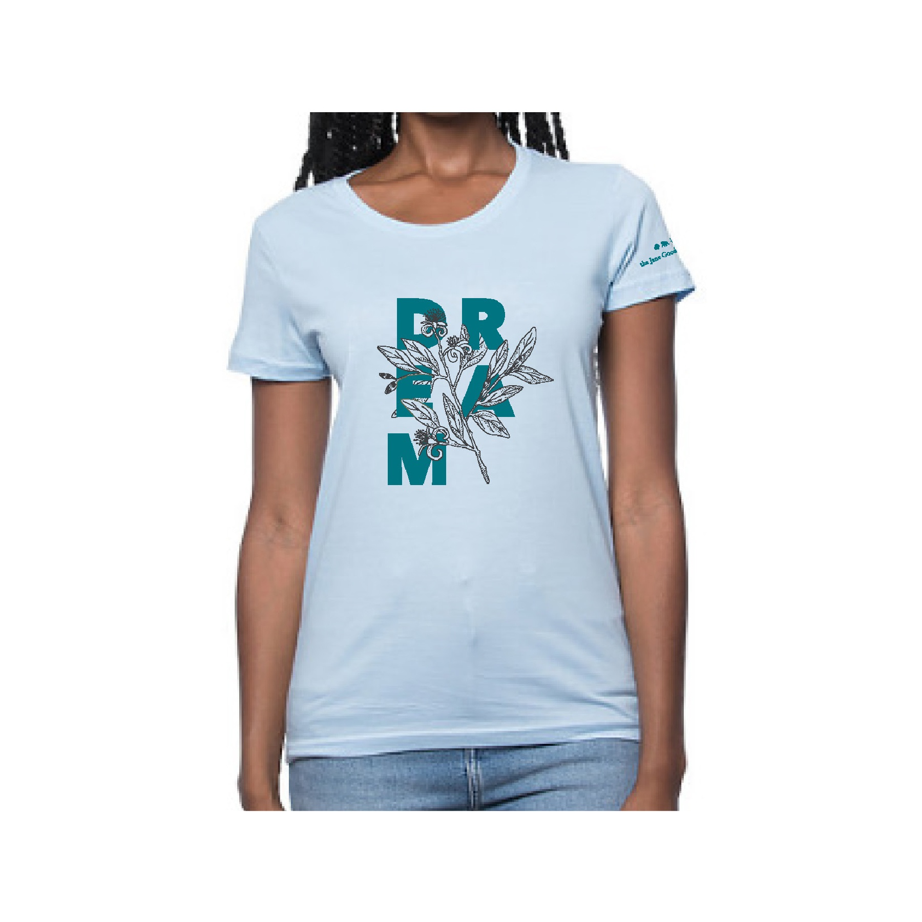Dream Gombe Botanical Womens T-shirt
