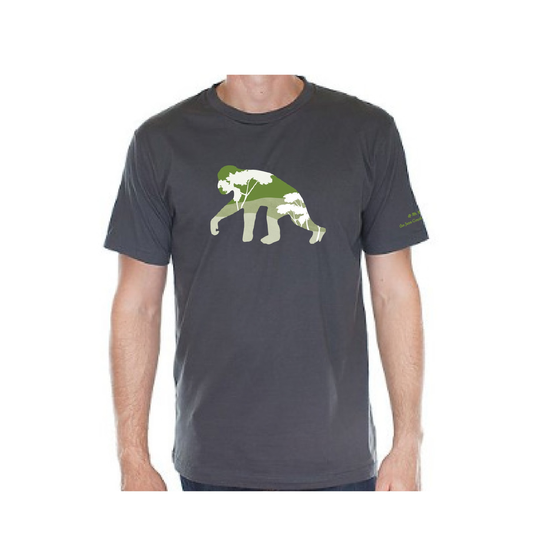Topographic Chimp Unisex T-shirt