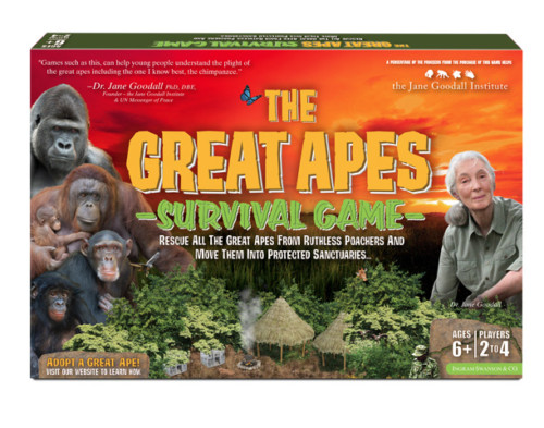 The Great Apes Survival Game Featuring Dr. Jane Goodall