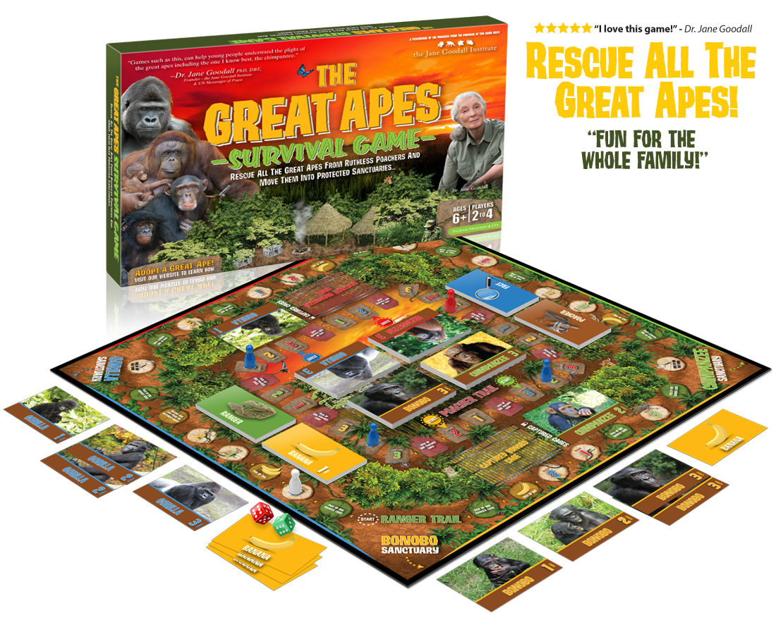 The Great Apes Survival Game Featuring Dr. Jane Goodall - 6175600032