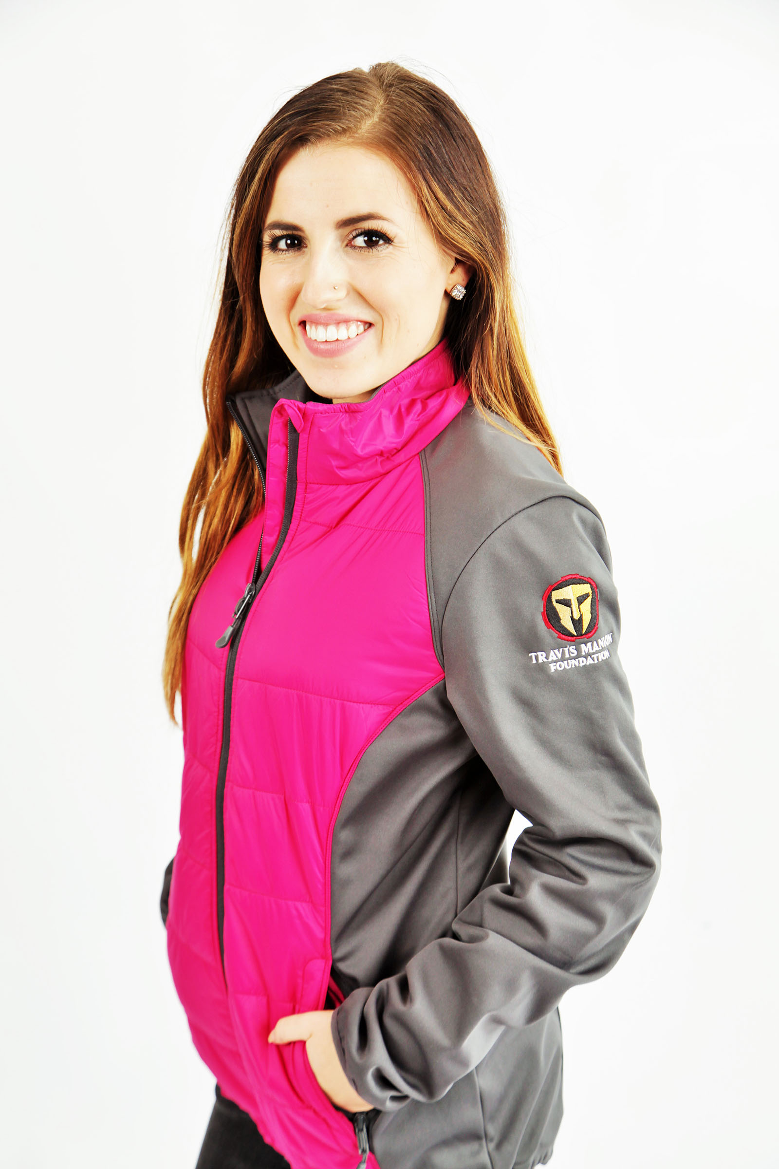 Travis Manion Foundation Womens Hybrid Soft Shell Jacket
