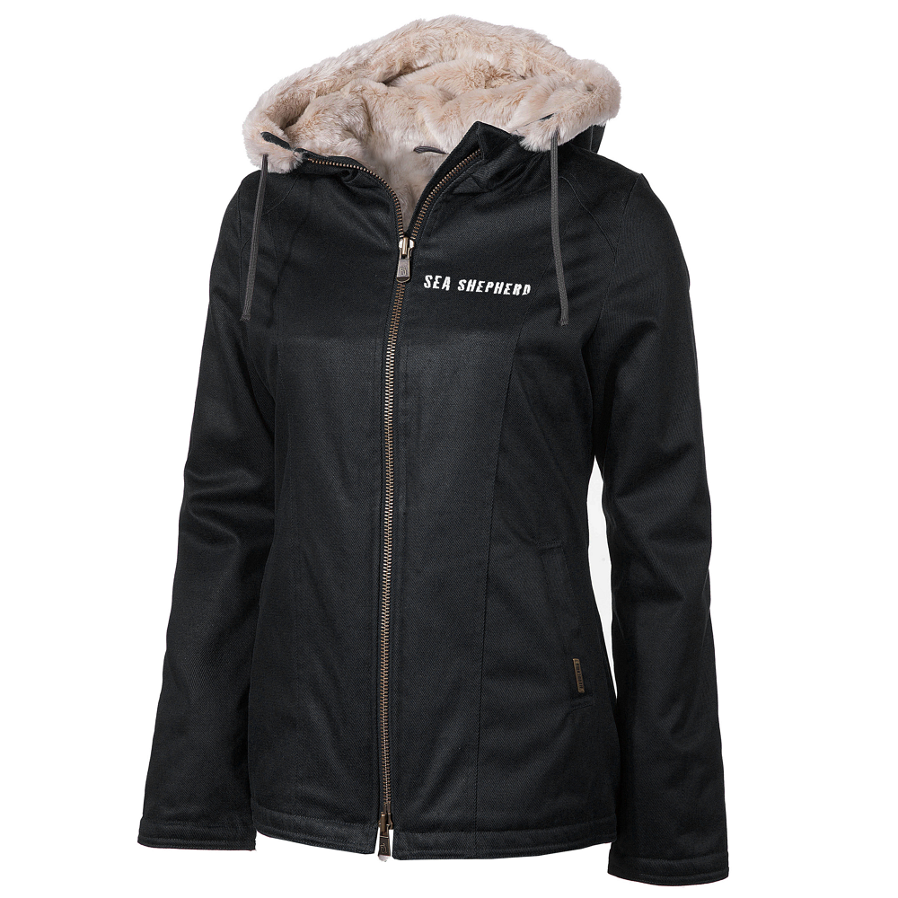 Ladies%27 Sea Shepherd Classic HoodLamb Jacket