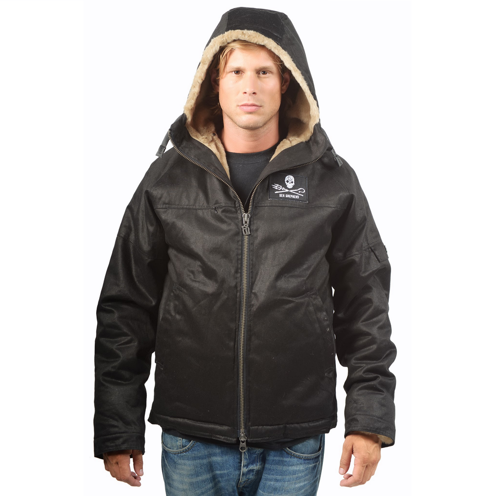 Men%27s Sea Shepherd Classic Hoodlamb Jacket