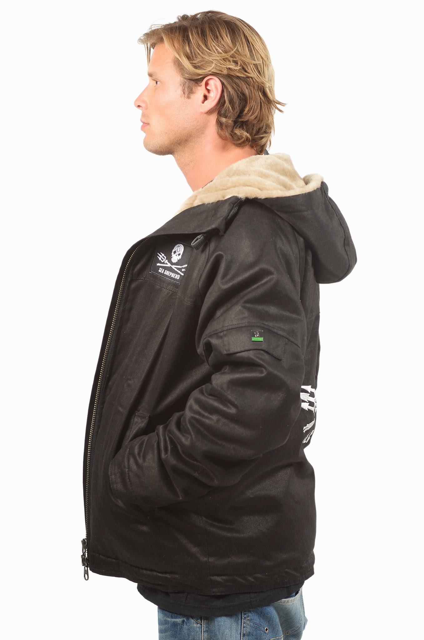Men's Sea Shepherd Classic Hoodlamb Jacket - MCH-SEAS
