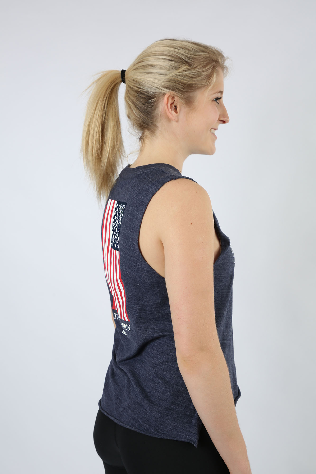 Travis Manion Foundation Ladies Navy Star Tank