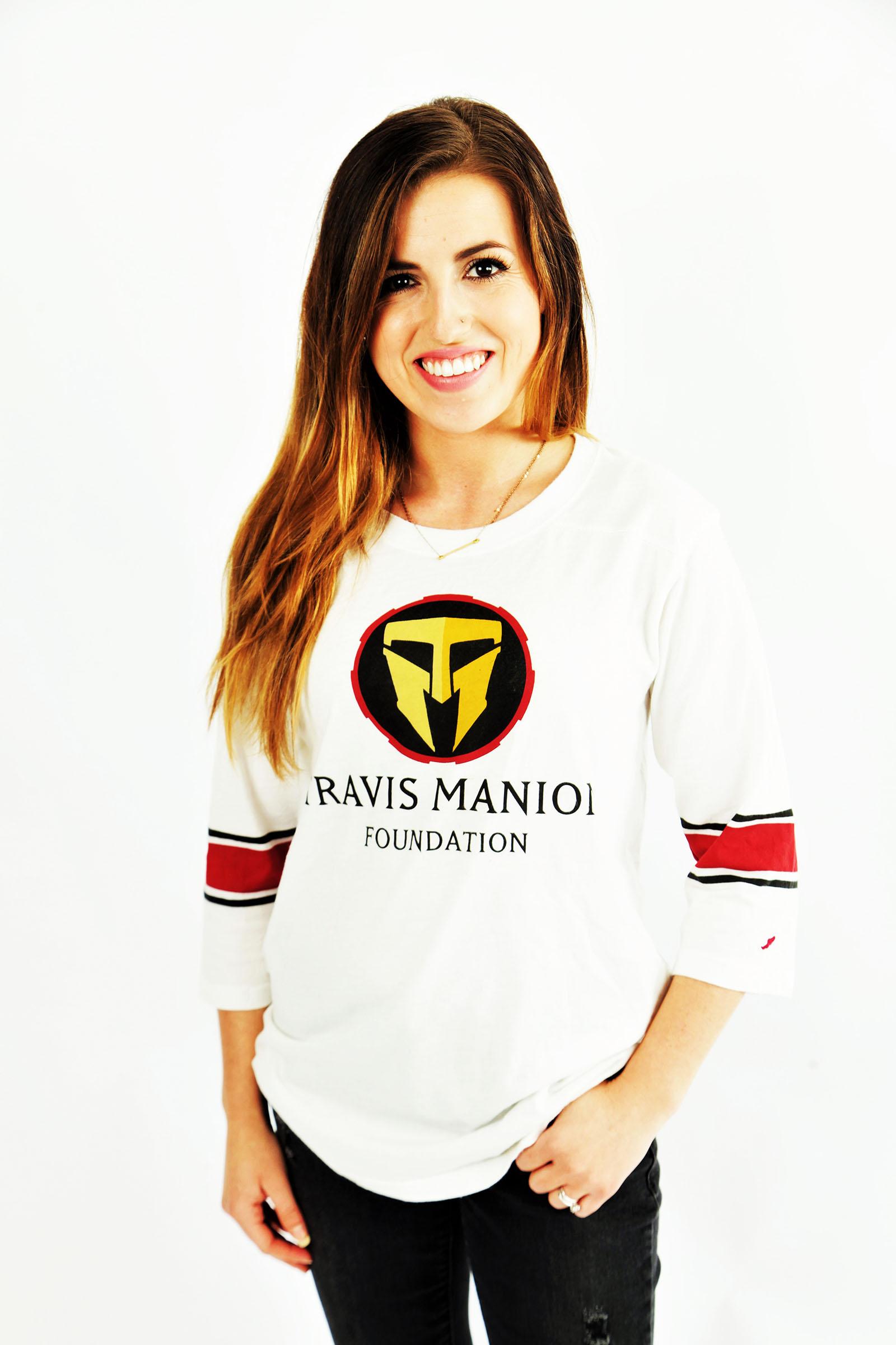 Travis Manion Foundation Womens Throwback Football Tee