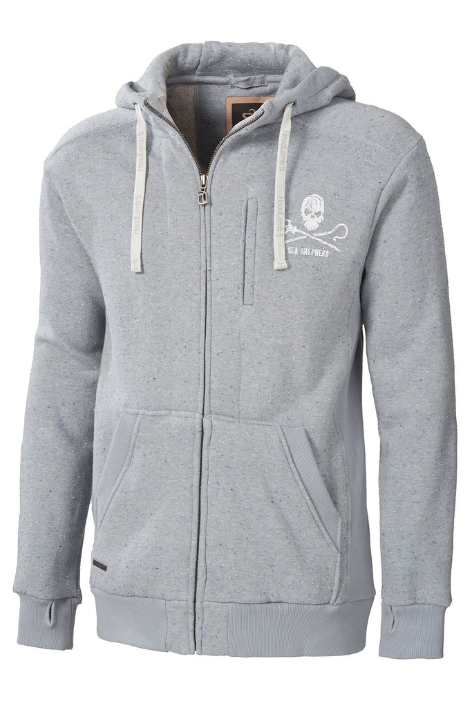 Men's Sea Shepherd Zip Up Hoody - MHT1-SEAS