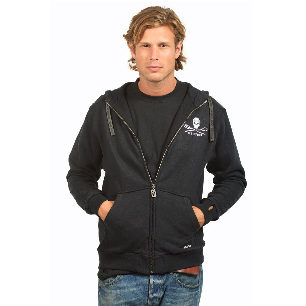 Men's Sea Shepherd Zip Up Hoody