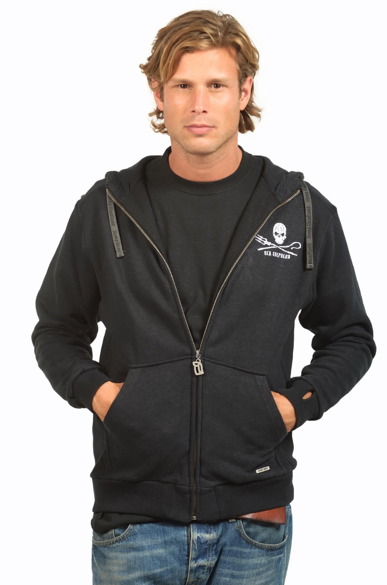 Men%27s Sea Shepherd Zip Up Hoody