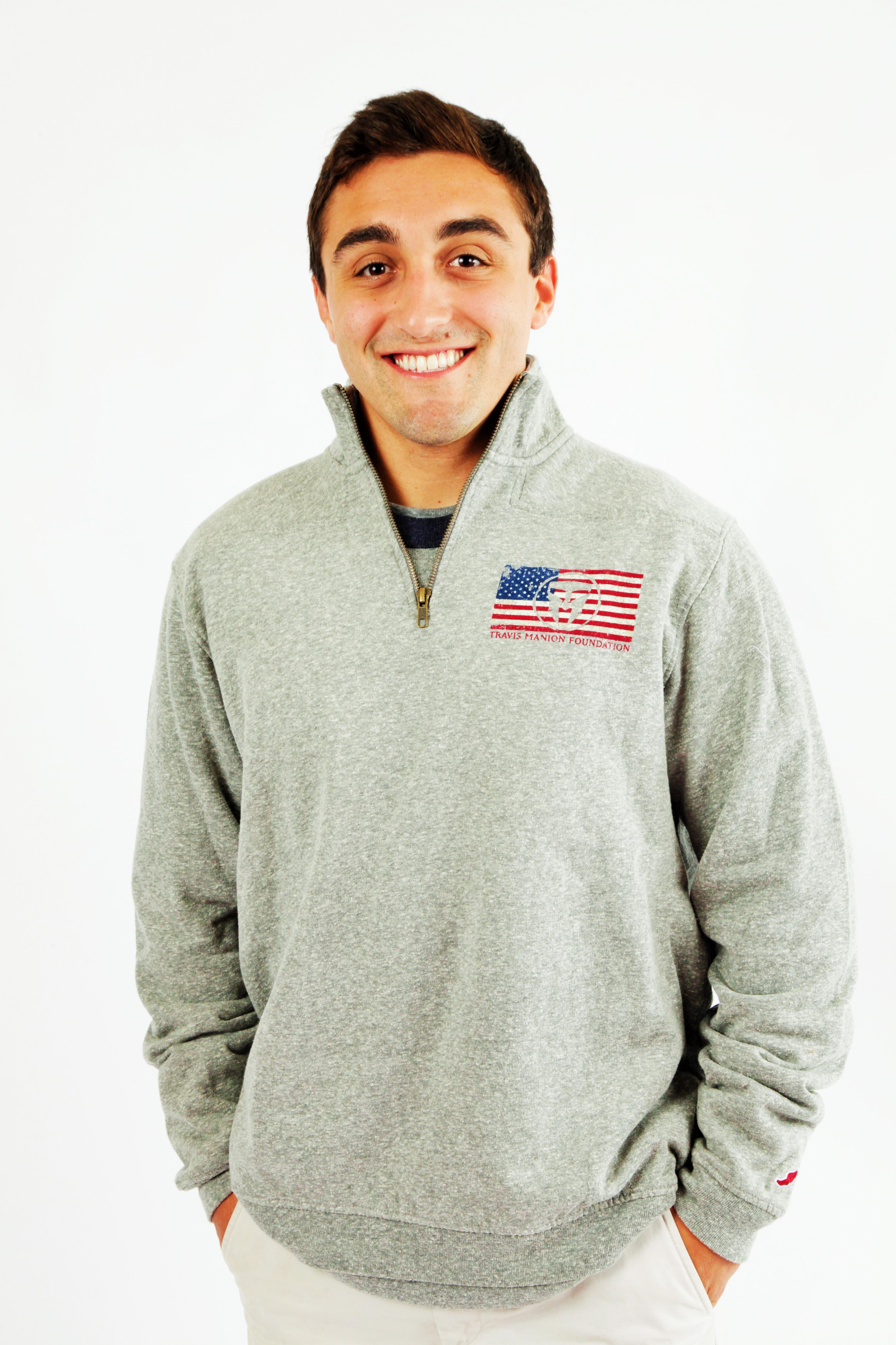 Tri-Blend TMF 1/4 Zip Sweatshirt