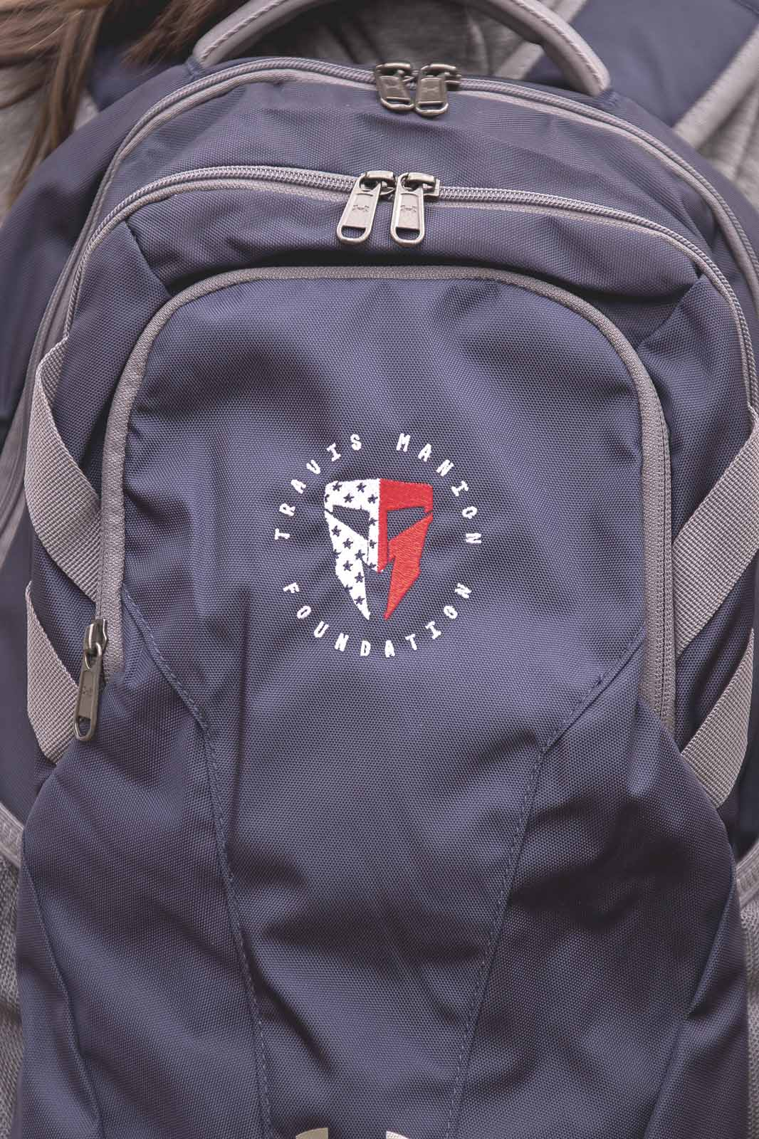 Travis Manion Foundation Under Armour Navy Backpack