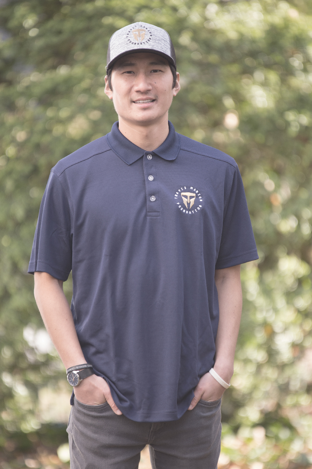 Travis Manion Foundation Navy Golf Polo