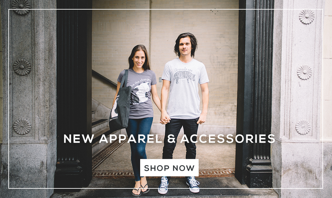 Shop New Apparel and Accessories from Farm Sanctuary